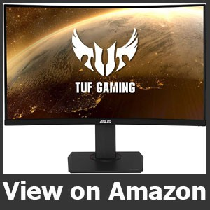 """Asus TUF VG32VQ 32"""" Curved Gaming Monitor"""